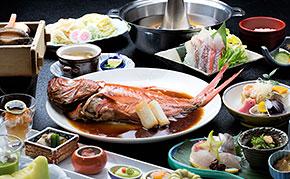 【金目鯛・鮑の踊り焼】 伊豆ならではの新鮮味覚を堪能彡。゜海の幸尽くし★2食付き<スタンダード>