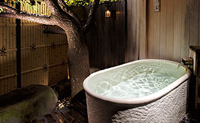 海をのぞむ彡。゜露天風呂付き客室が嬉しい♪【o。素泊りo。13,800円】
